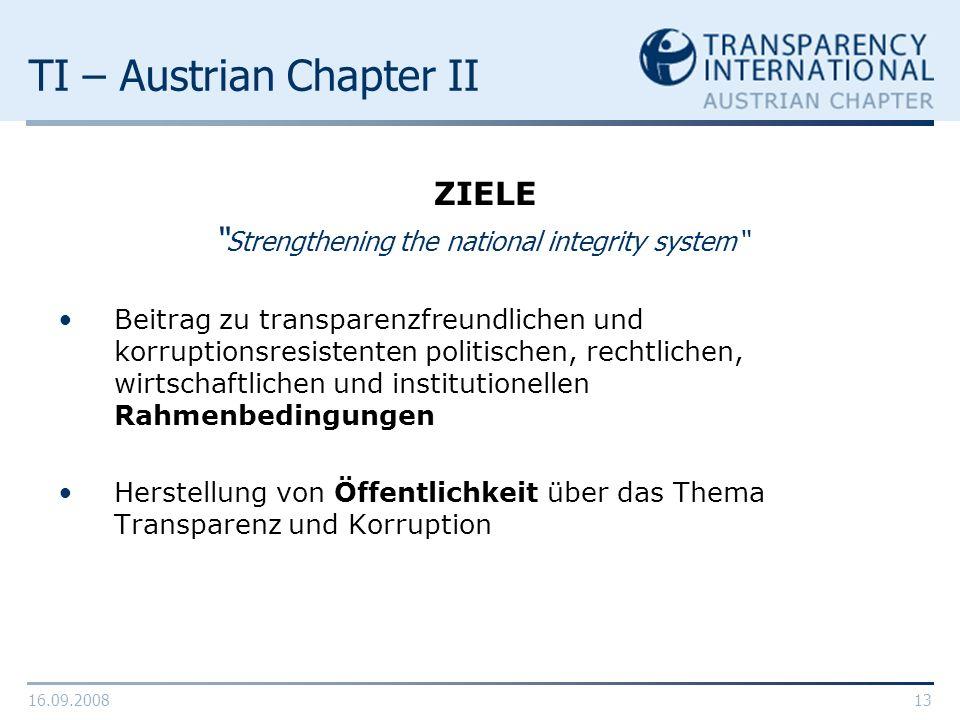 TI – Austrian Chapter II
