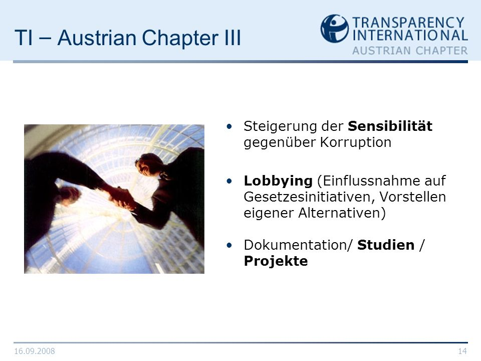 TI – Austrian Chapter III
