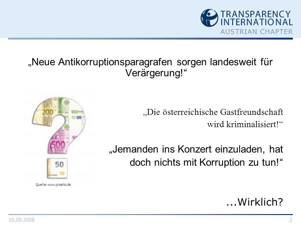"""""""Neue Antikorruptionsparagrafen sorgen landesweit für Verärgerung!"""