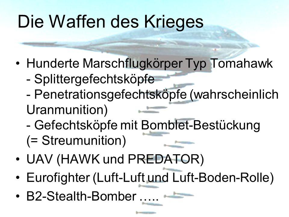 Die Waffen des Krieges