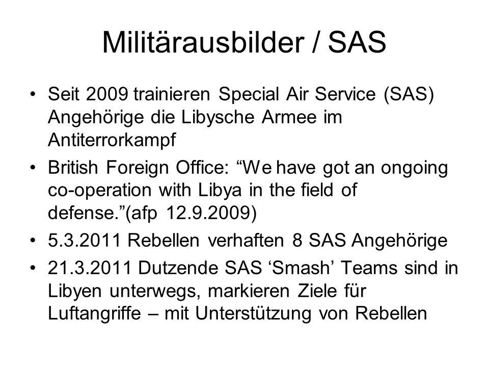 Militärausbilder / SAS