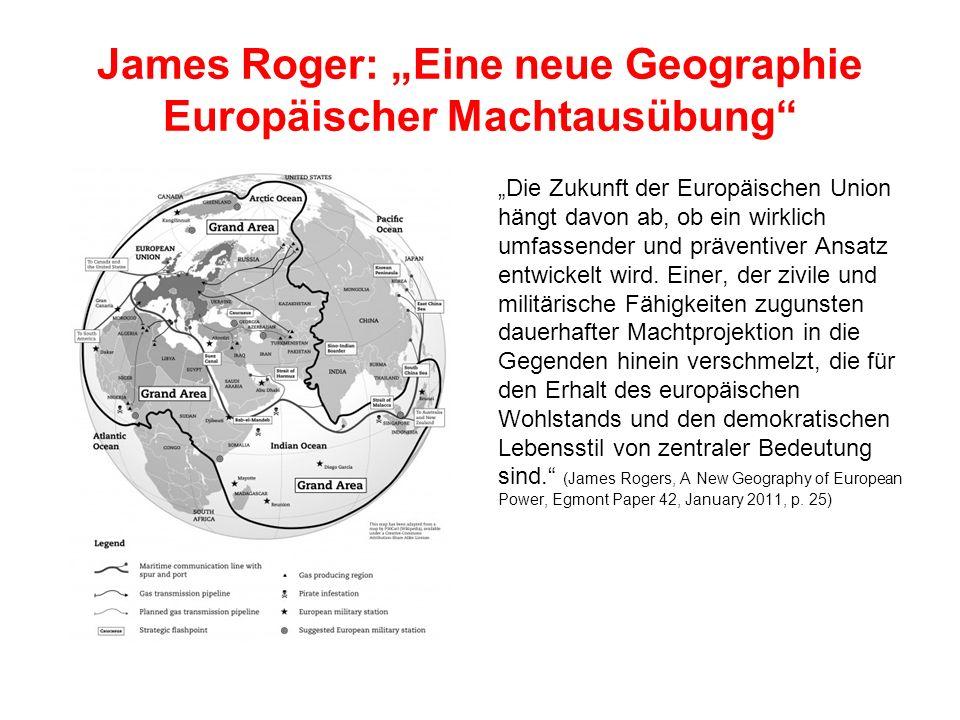 """James Roger: """"Eine neue Geographie Europäischer Machtausübung"""