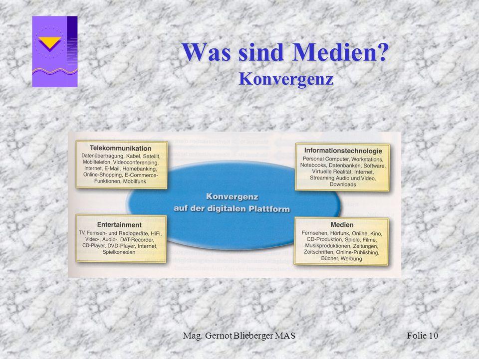Was sind Medien Konvergenz