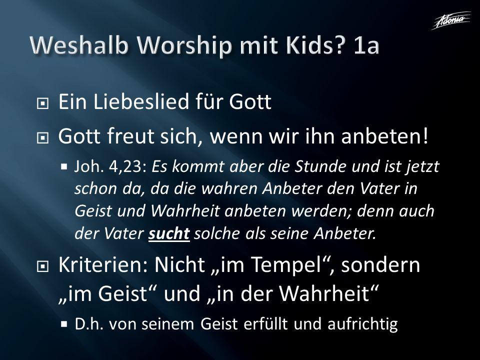 Weshalb Worship mit Kids 1a