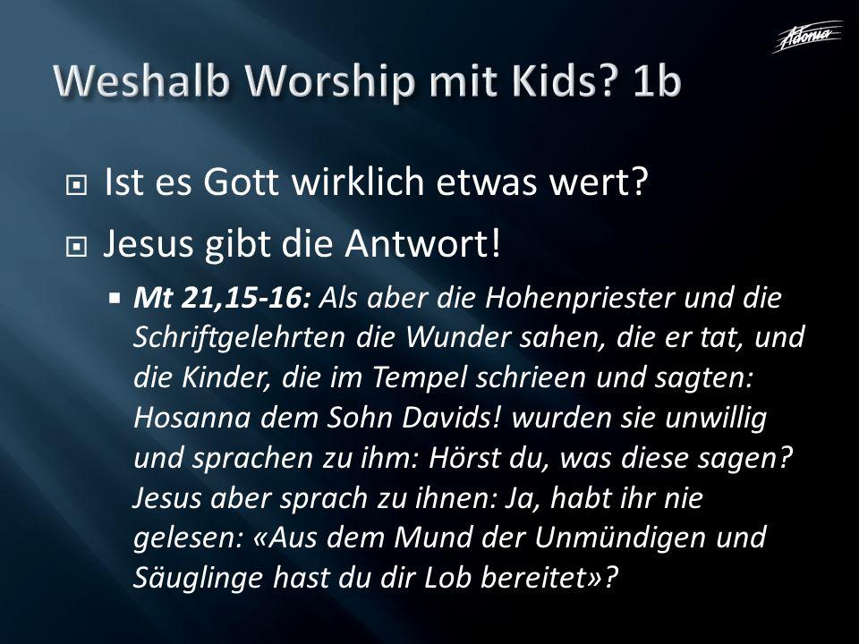 Weshalb Worship mit Kids 1b