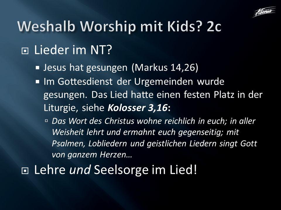 Weshalb Worship mit Kids 2c