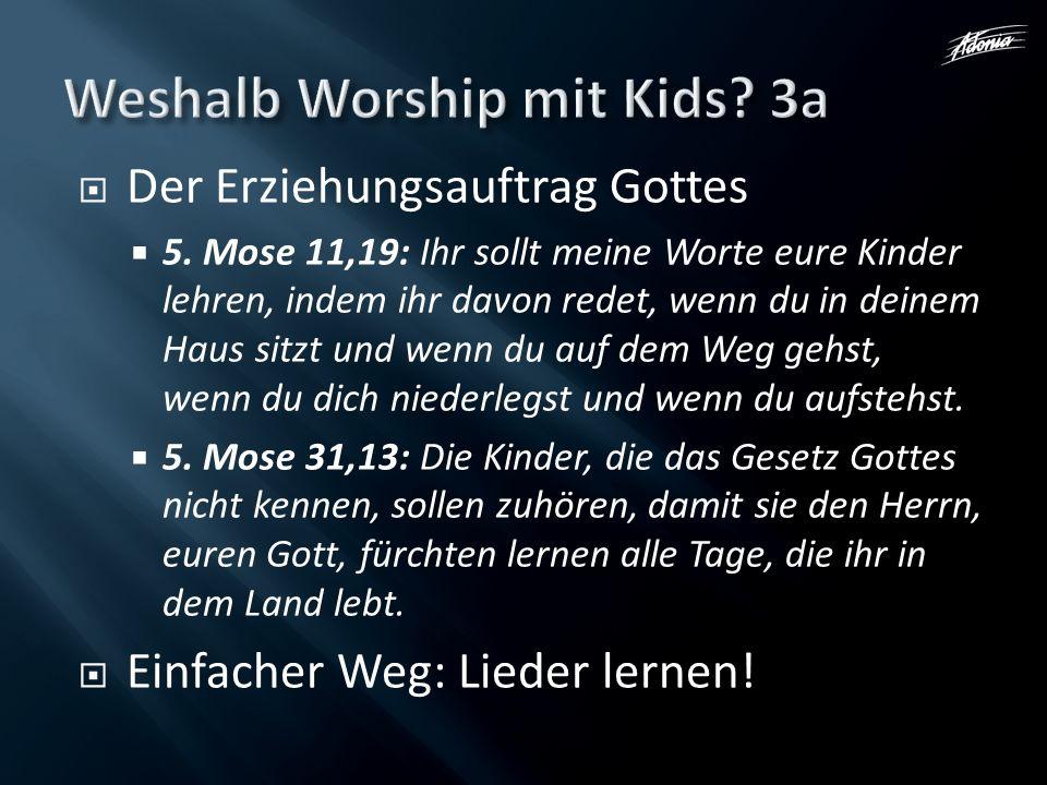 Weshalb Worship mit Kids 3a