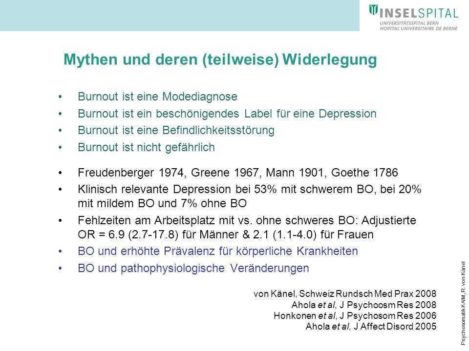 Mythen und deren (teilweise) Widerlegung