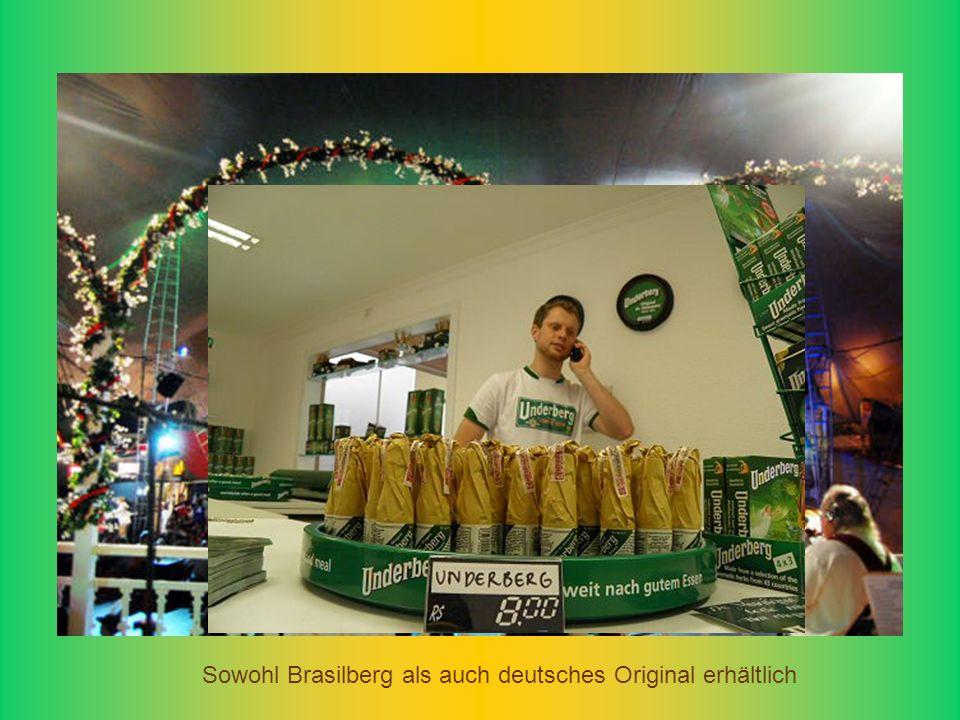 Sowohl Brasilberg als auch deutsches Original erhältlich