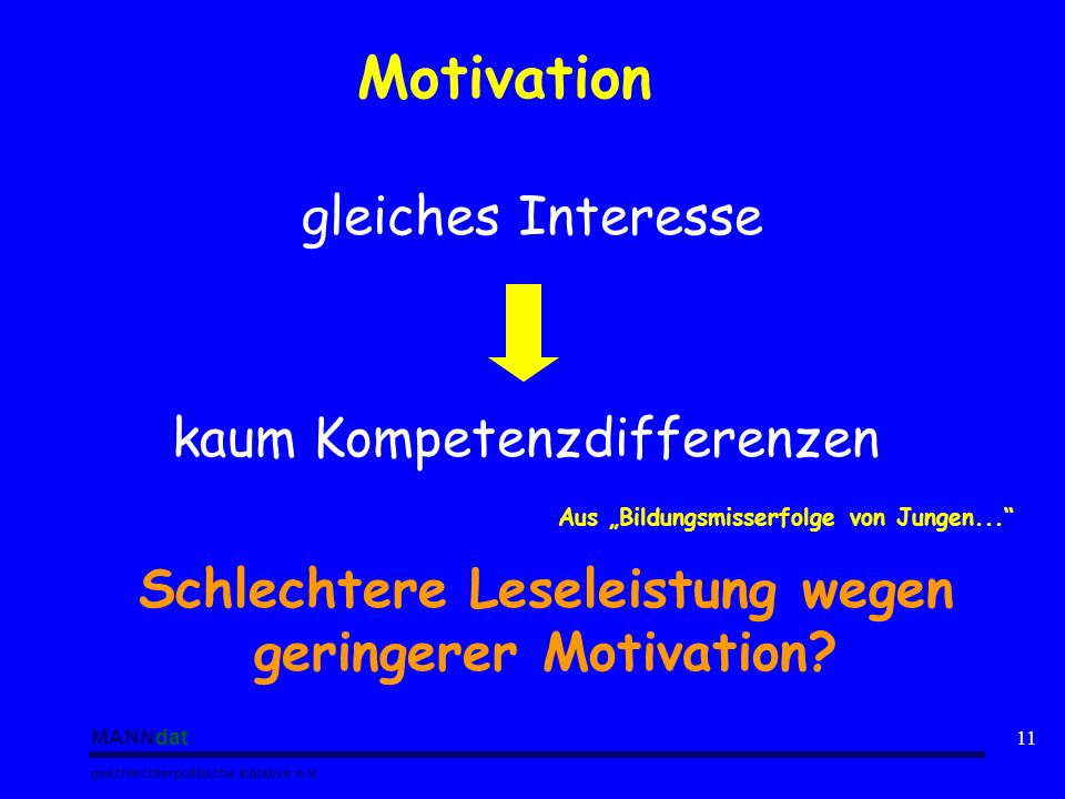 Motivation gleiches Interesse kaum Kompetenzdifferenzen