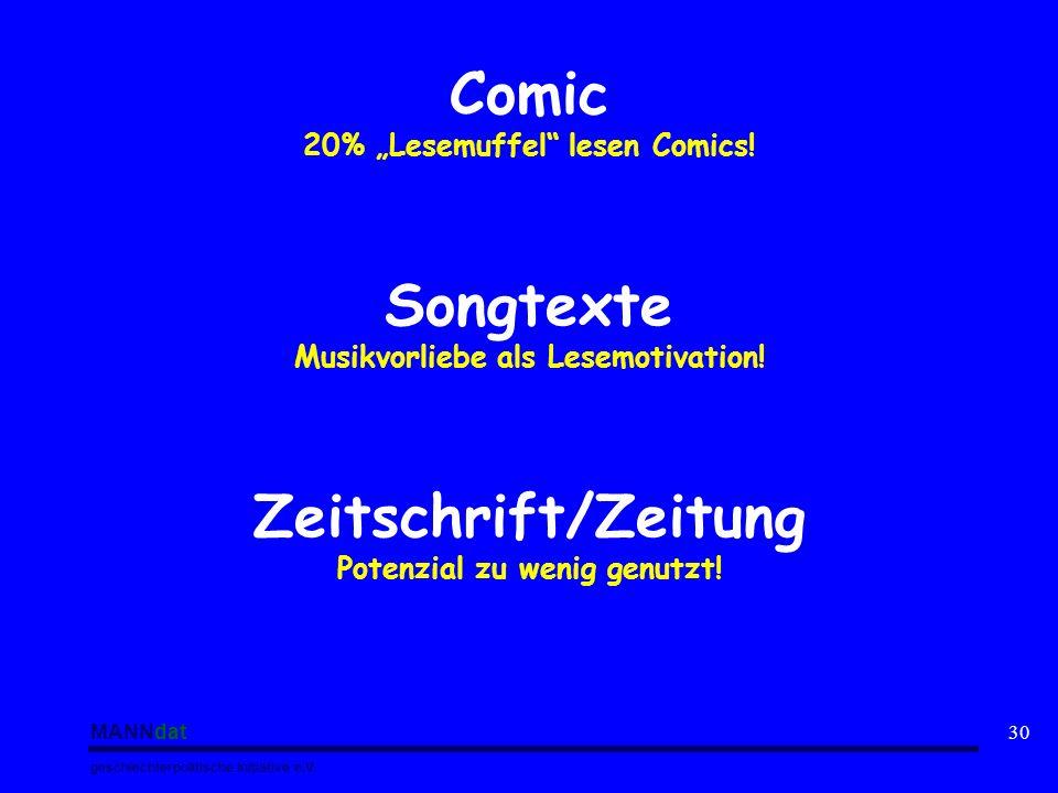 "Comic 20% ""Lesemuffel lesen Comics"