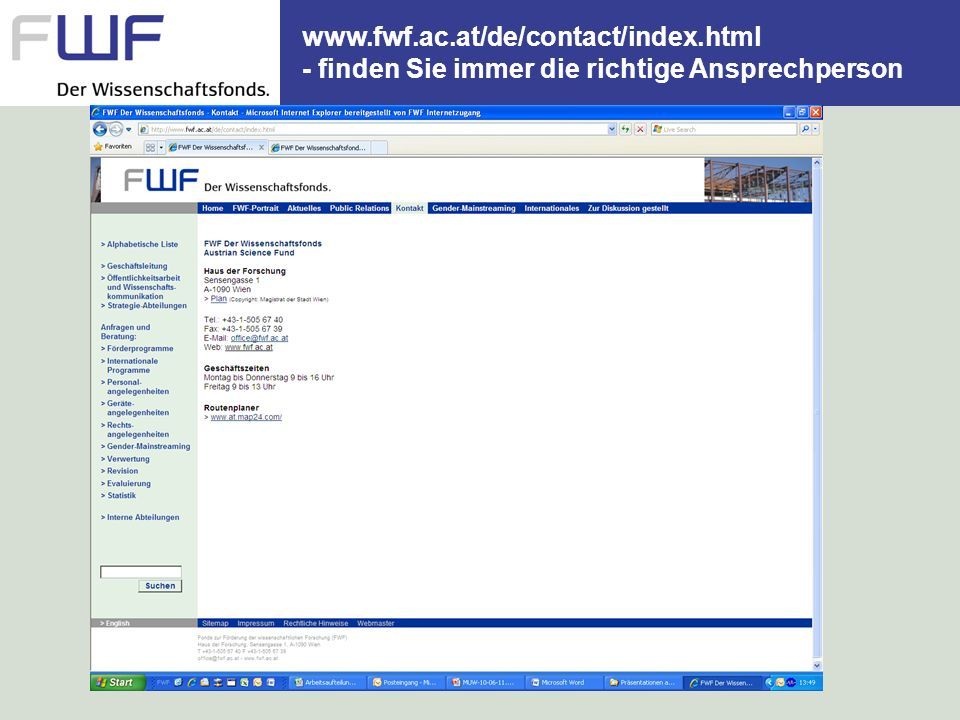 www. fwf. ac. at/de/contact/index