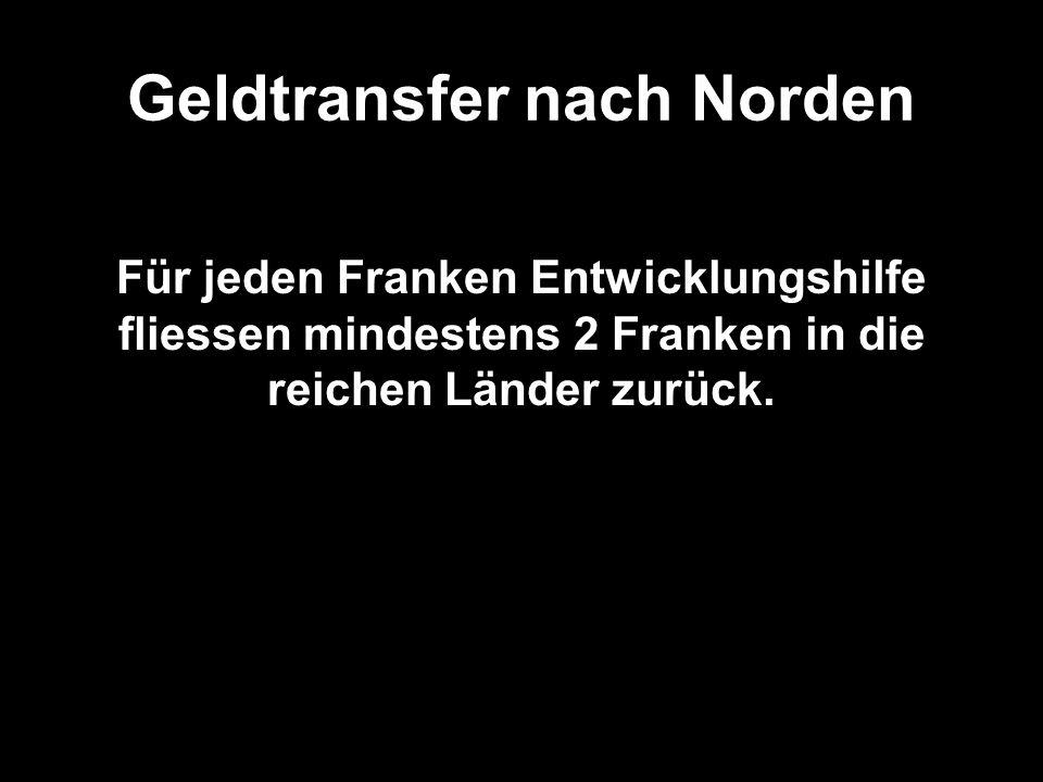 Geldtransfer nach Norden