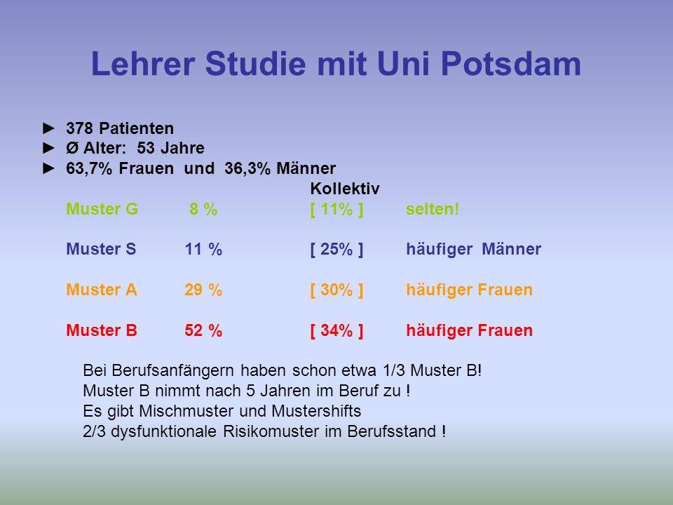 Lehrer Studie mit Uni Potsdam