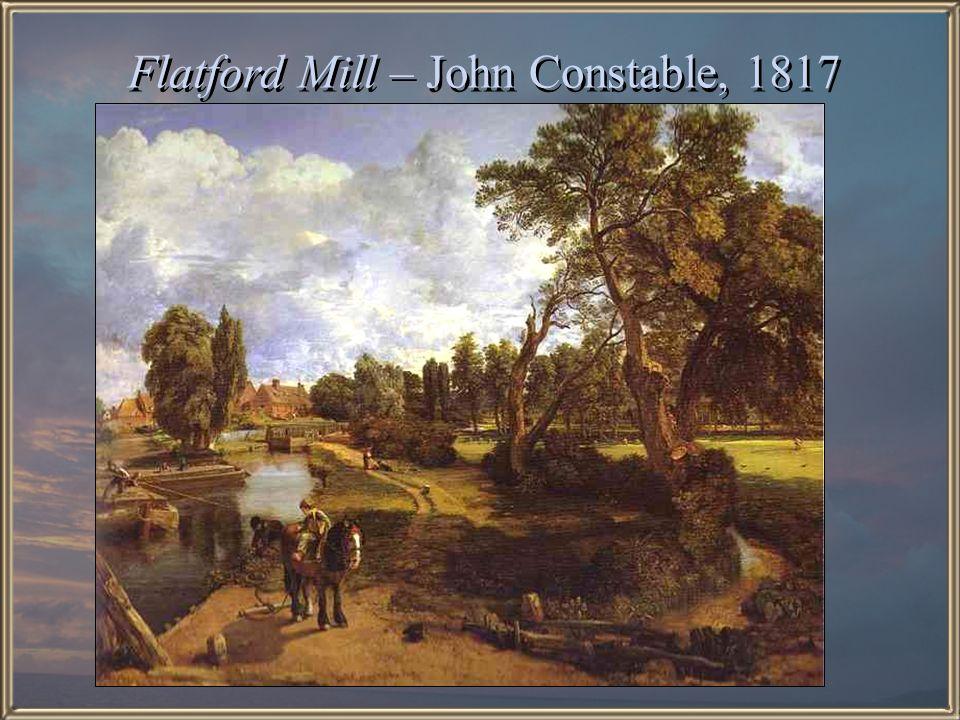 Flatford Mill – John Constable, 1817