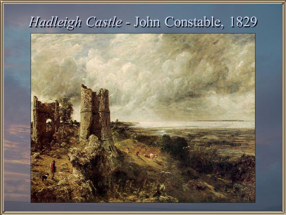 Hadleigh Castle - John Constable, 1829