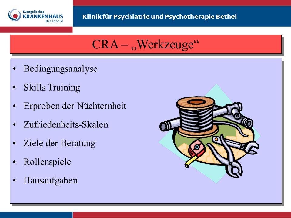 "CRA – ""Werkzeuge Bedingungsanalyse Skills Training"