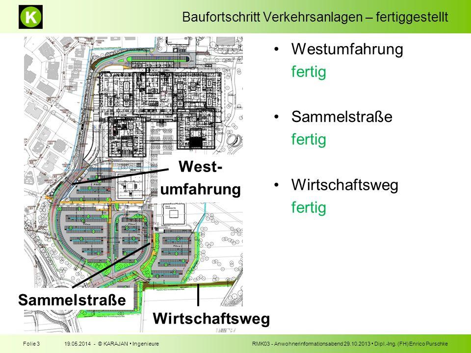 West- umfahrung Sammelstraße Wirtschaftsweg