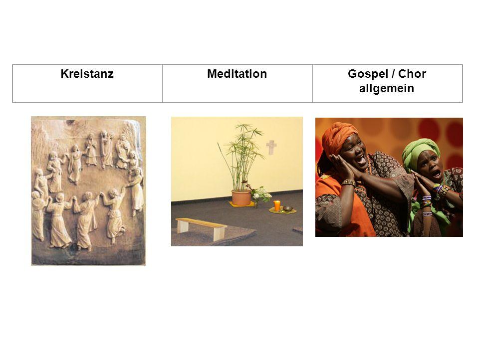Gospel / Chor allgemein