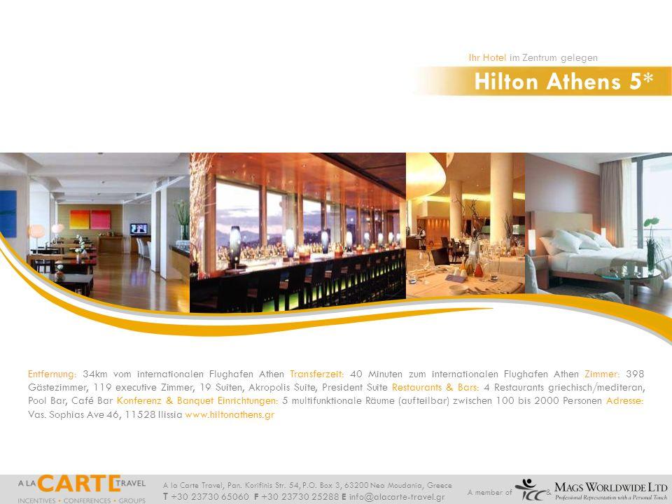 Hilton Athens 5* Ihr Hotel im Zentrum gelegen