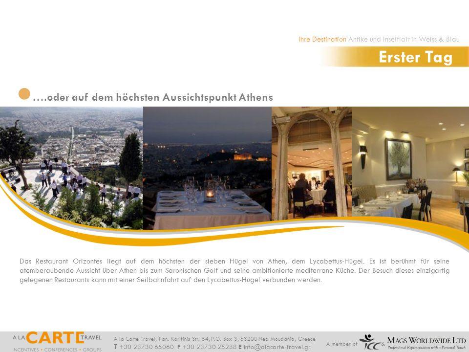 Erster Tag ….oder auf dem höchsten Aussichtspunkt Athens