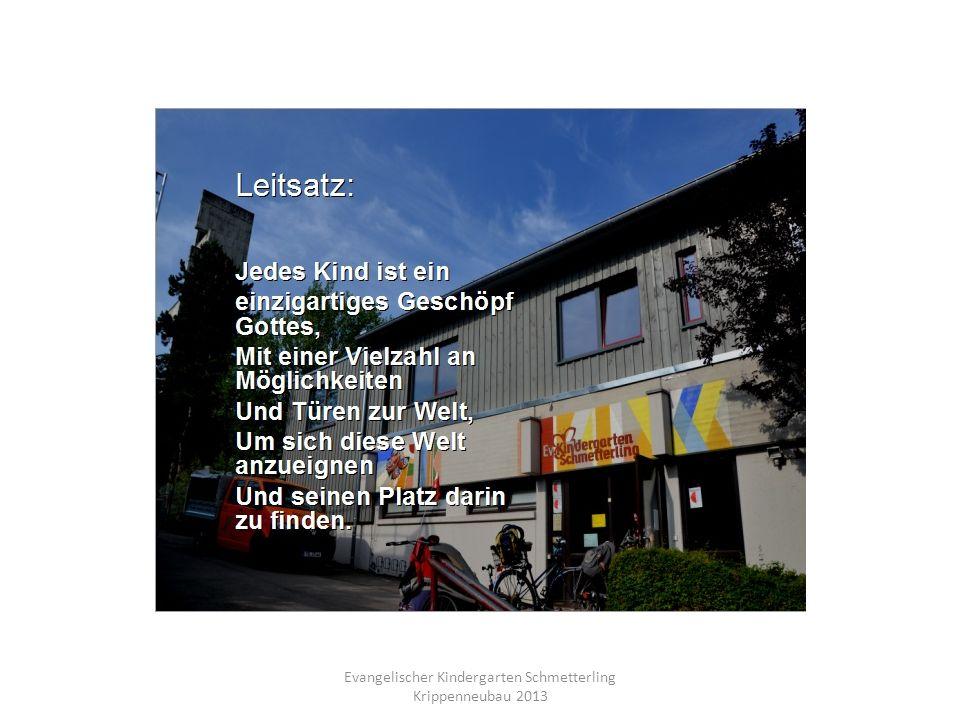 Evangelischer Kindergarten Schmetterling Krippenneubau 2013