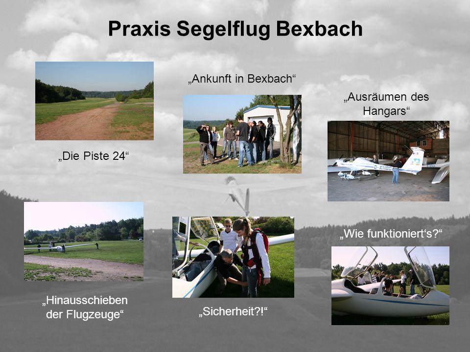 Praxis Segelflug Bexbach