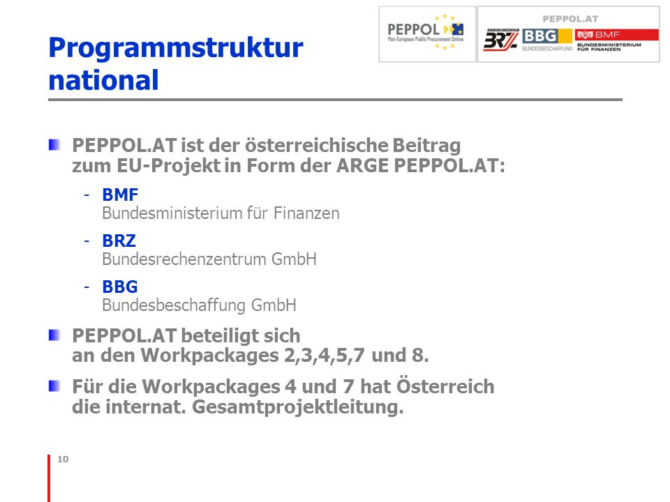 Programmstruktur national