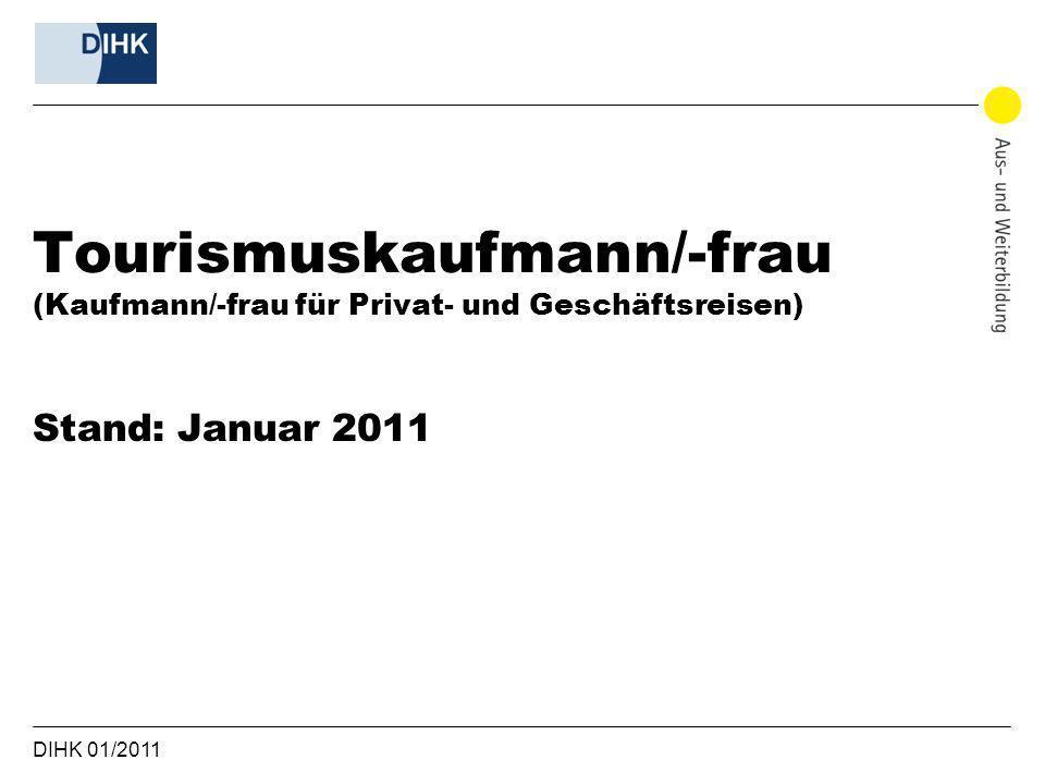 Tourismuskaufmann/-frau (Kaufmann/-frau für Privat- und Geschäftsreisen)