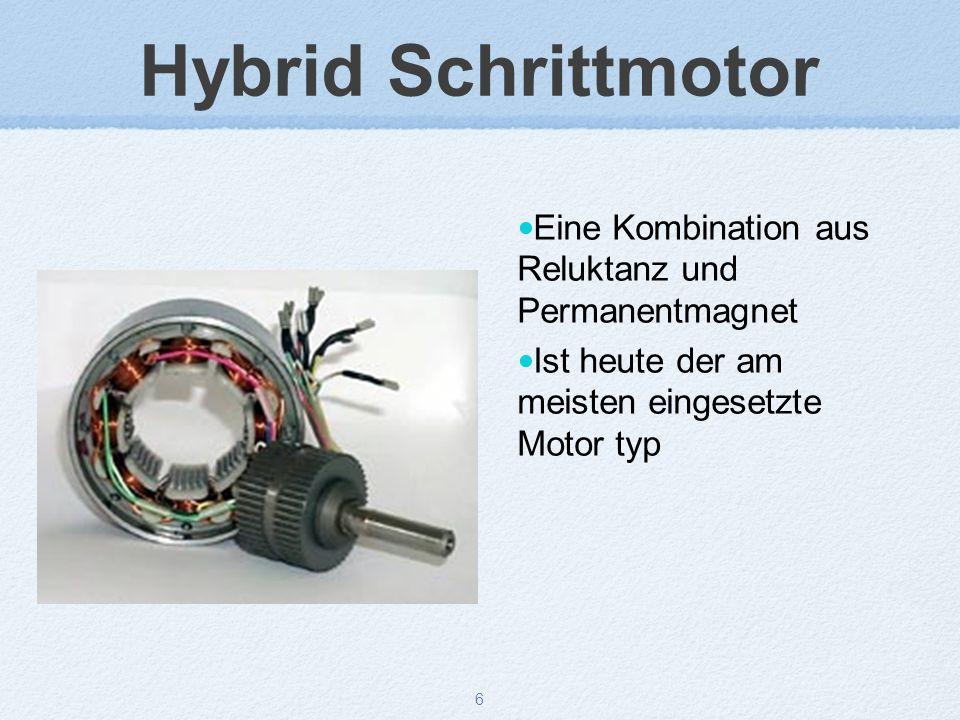 Hybrid Schrittmotor Eine Kombination aus Reluktanz und Permanentmagnet