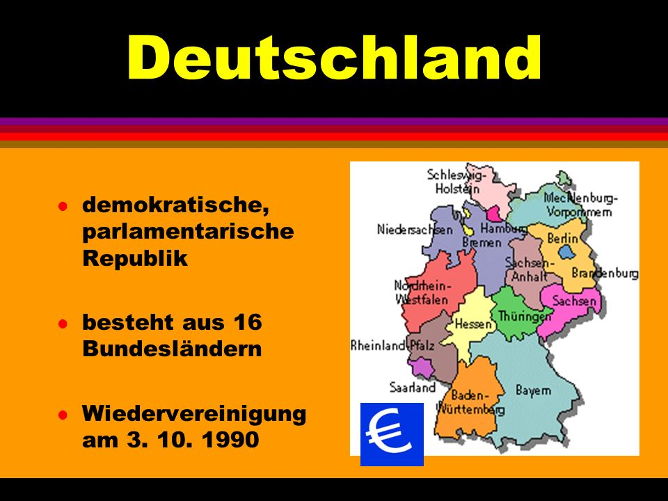 Deutschland demokratische, parlamentarische Republik
