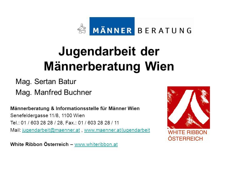 Jugendarbeit der Männerberatung Wien