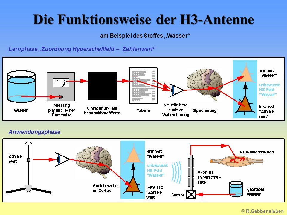 Die Funktionsweise der H3-Antenne