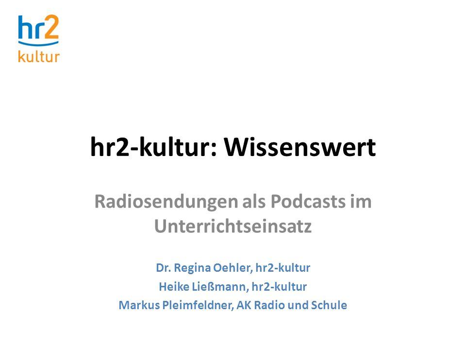 hr2-kultur: Wissenswert