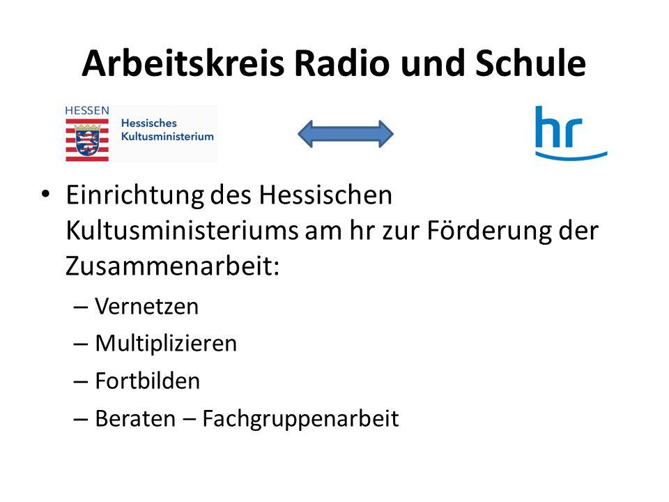 Arbeitskreis Radio und Schule