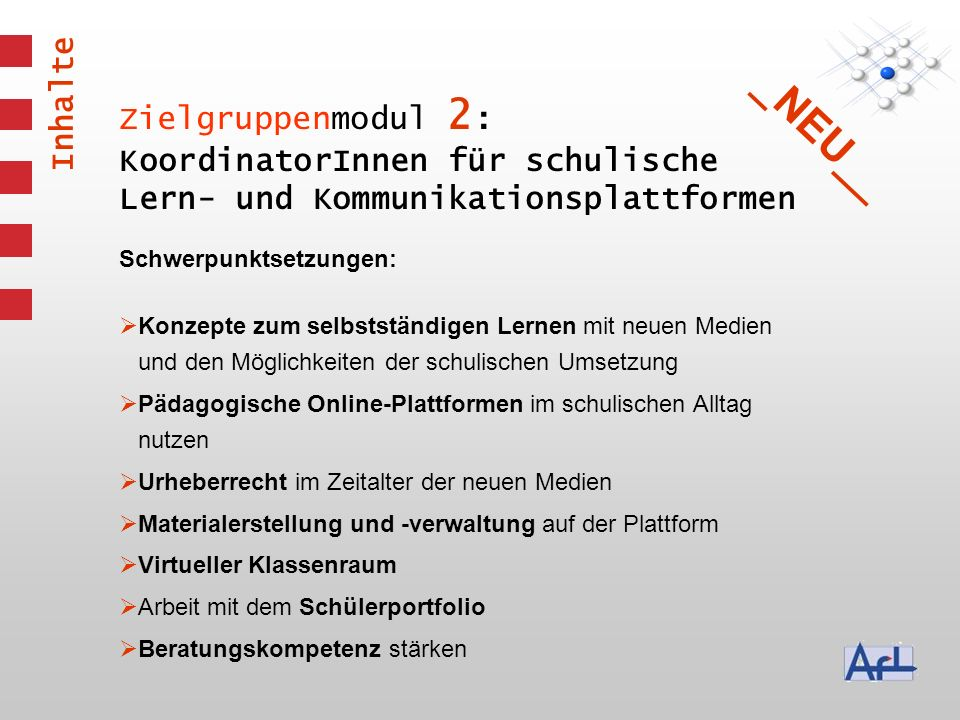 _NEU__ Inhalte Zielgruppenmodul 2: