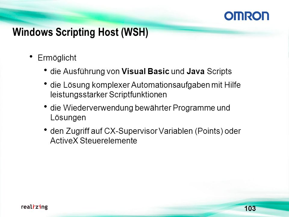 Windows Scripting Host (WSH)