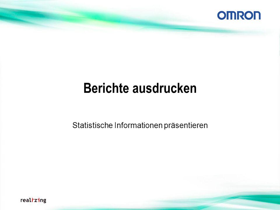 Statistische Informationen präsentieren