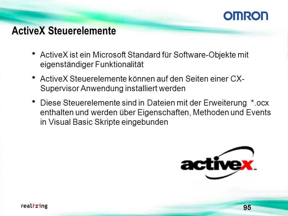 ActiveX Steuerelemente