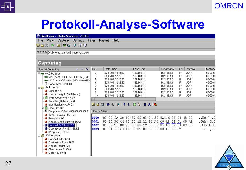 Protokoll-Analyse-Software