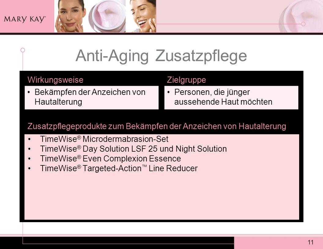 Anti-Aging Zusatzpflege