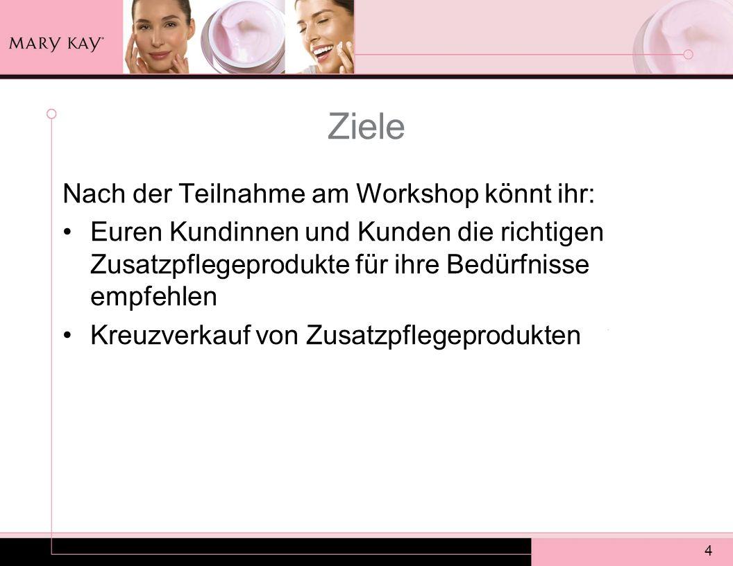 Ziele Nach der Teilnahme am Workshop könnt ihr: