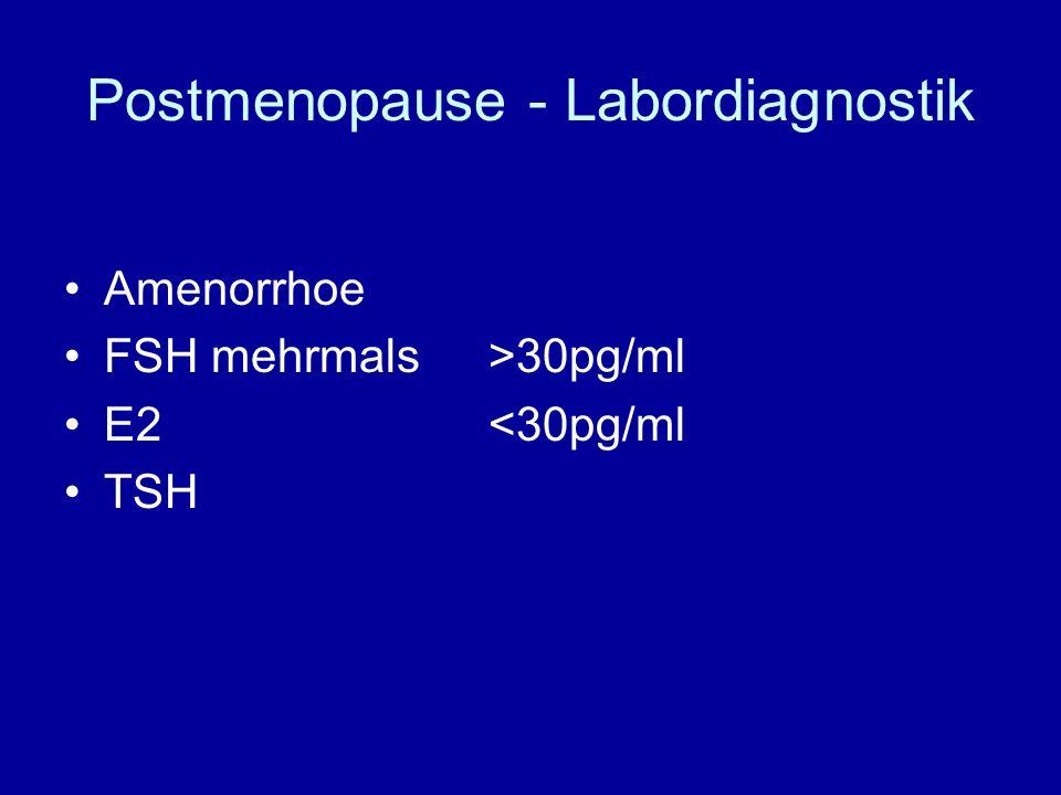 Postmenopause - Labordiagnostik