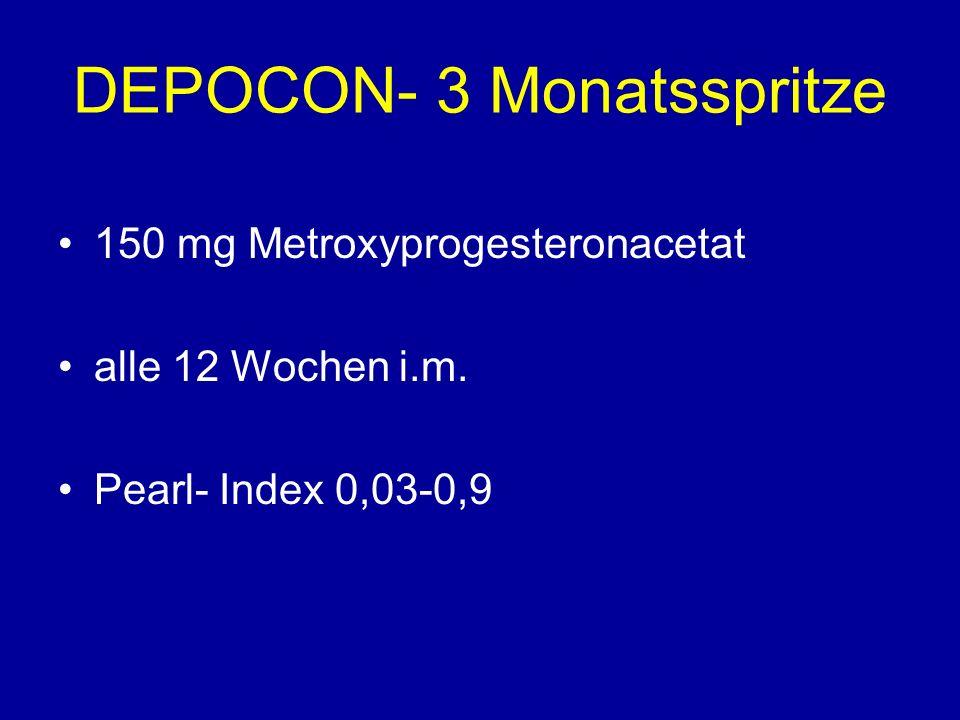 DEPOCON- 3 Monatsspritze
