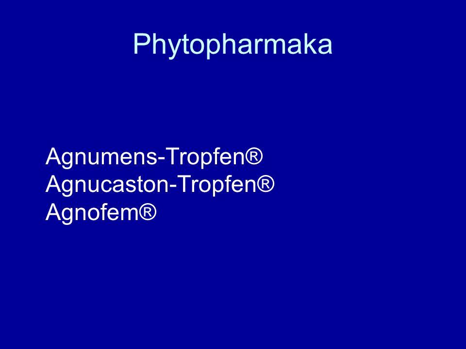 Phytopharmaka Agnumens-Tropfen® Agnucaston-Tropfen® Agnofem®