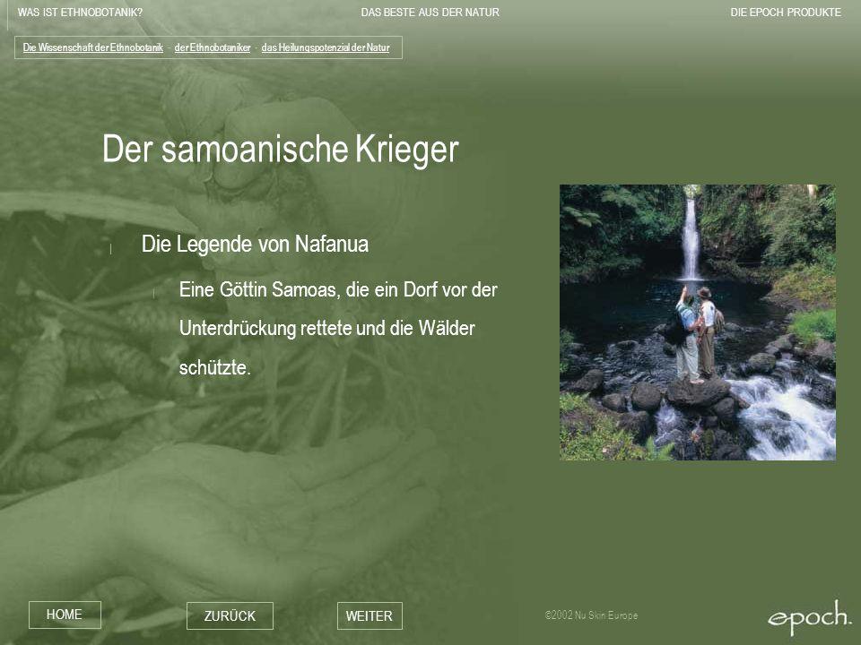 Der samoanische Krieger