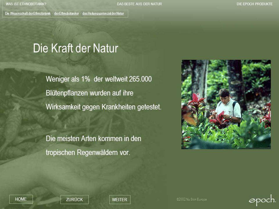 Die Wissenschaft der Ethnobotanik - der Ethnobotaniker - das Heilungspotenzial der Natur