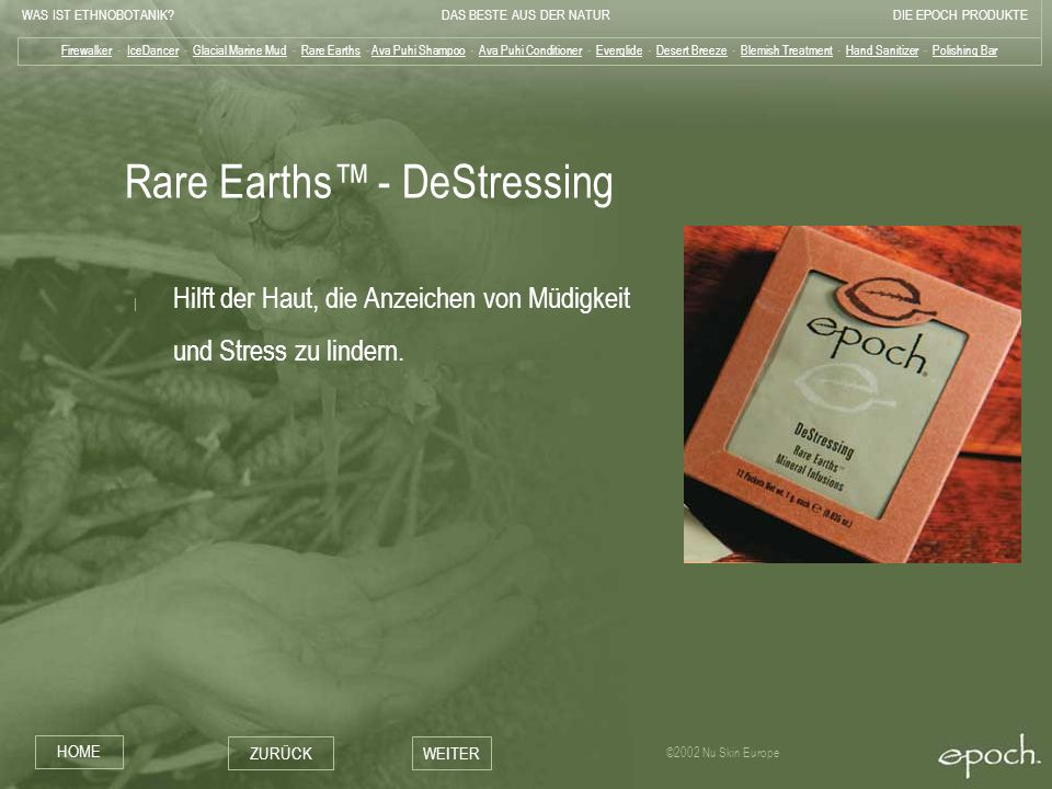 Rare Earths™ - DeStressing