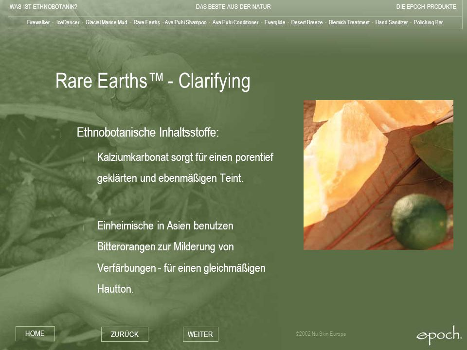 Rare Earths™ - Clarifying