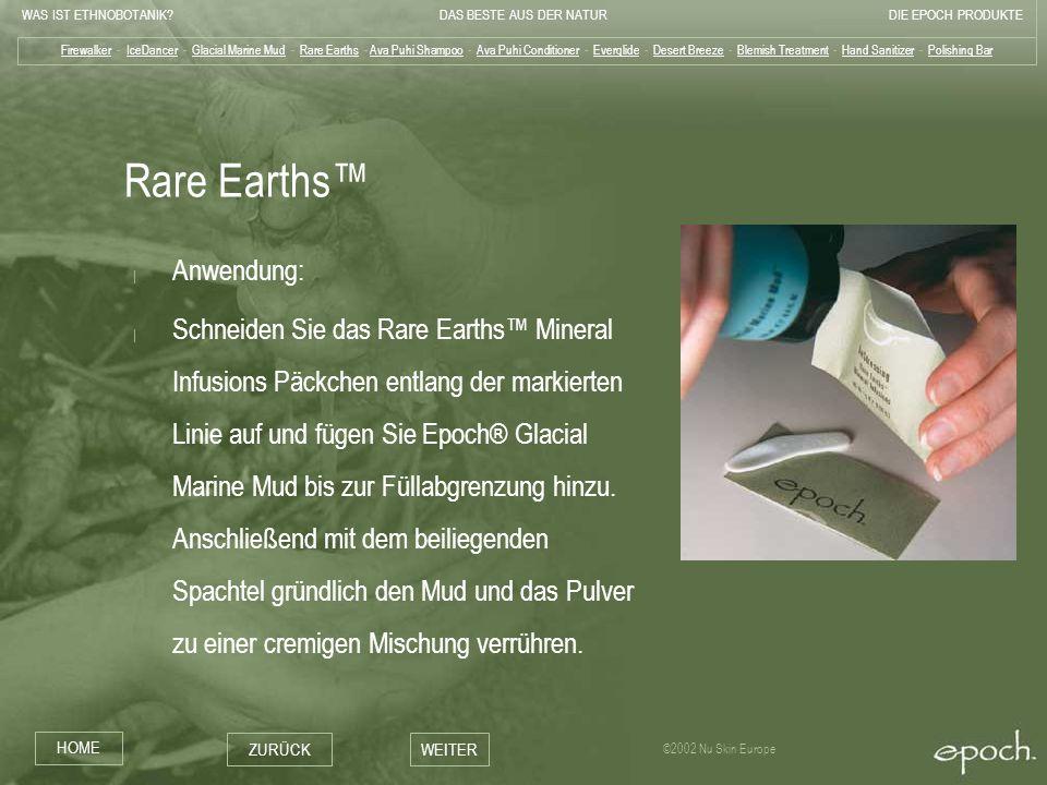 Rare Earths™ Anwendung: